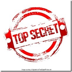 Top Secret with credit